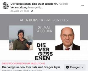 Talk mit Gregor Gysi